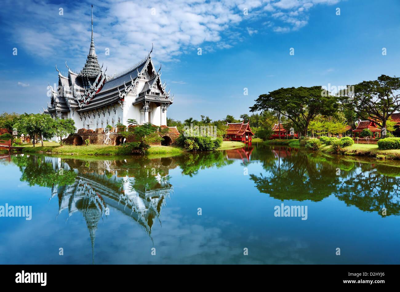 Palais Sanphet Prasat, ville ancienne, Bangkok, Thaïlande Photo Stock