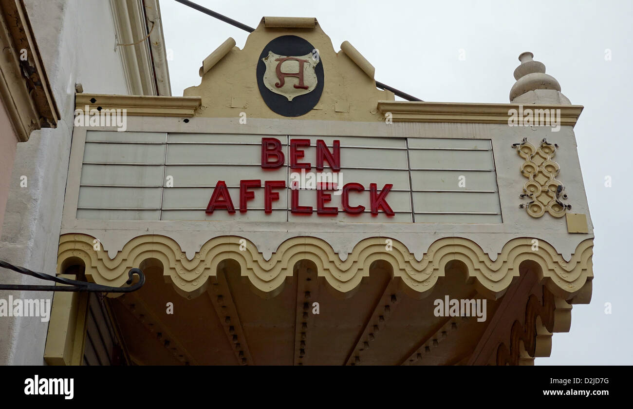 Ben Affleck signe Photo Stock