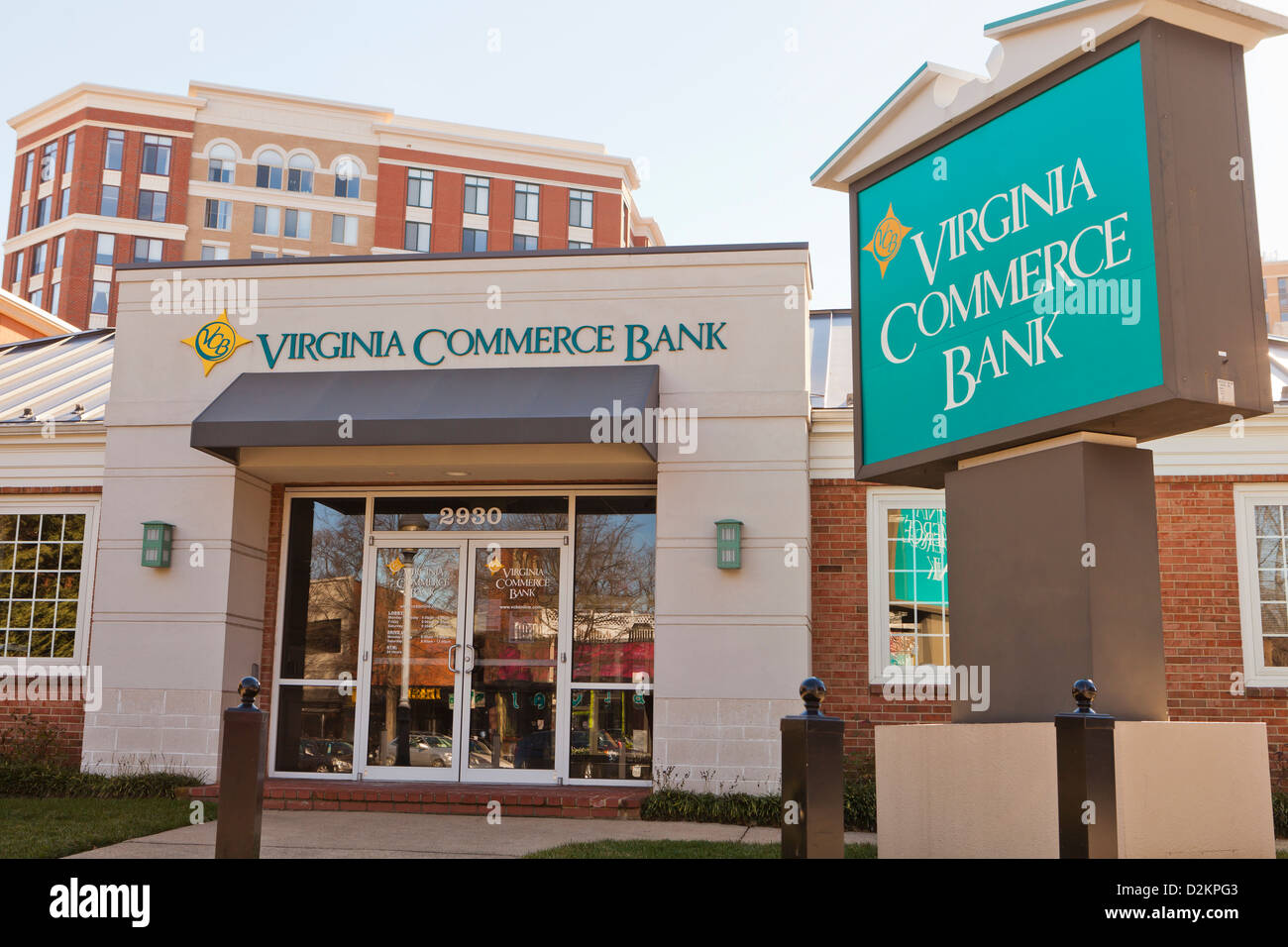 Virginie Commerce Bank Photo Stock