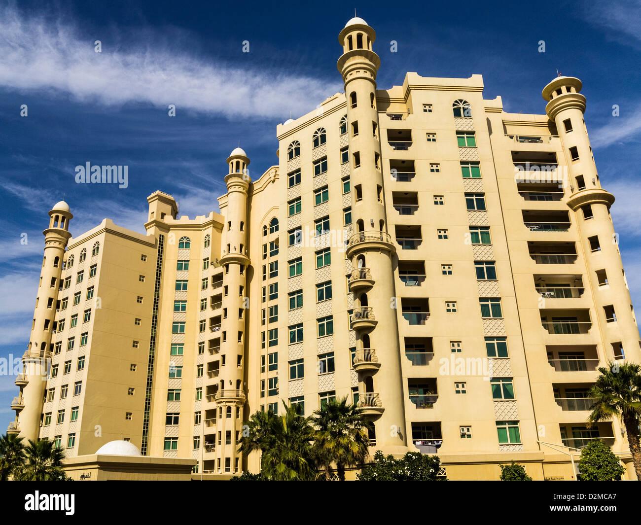 Appartements, Dubaï Photo Stock