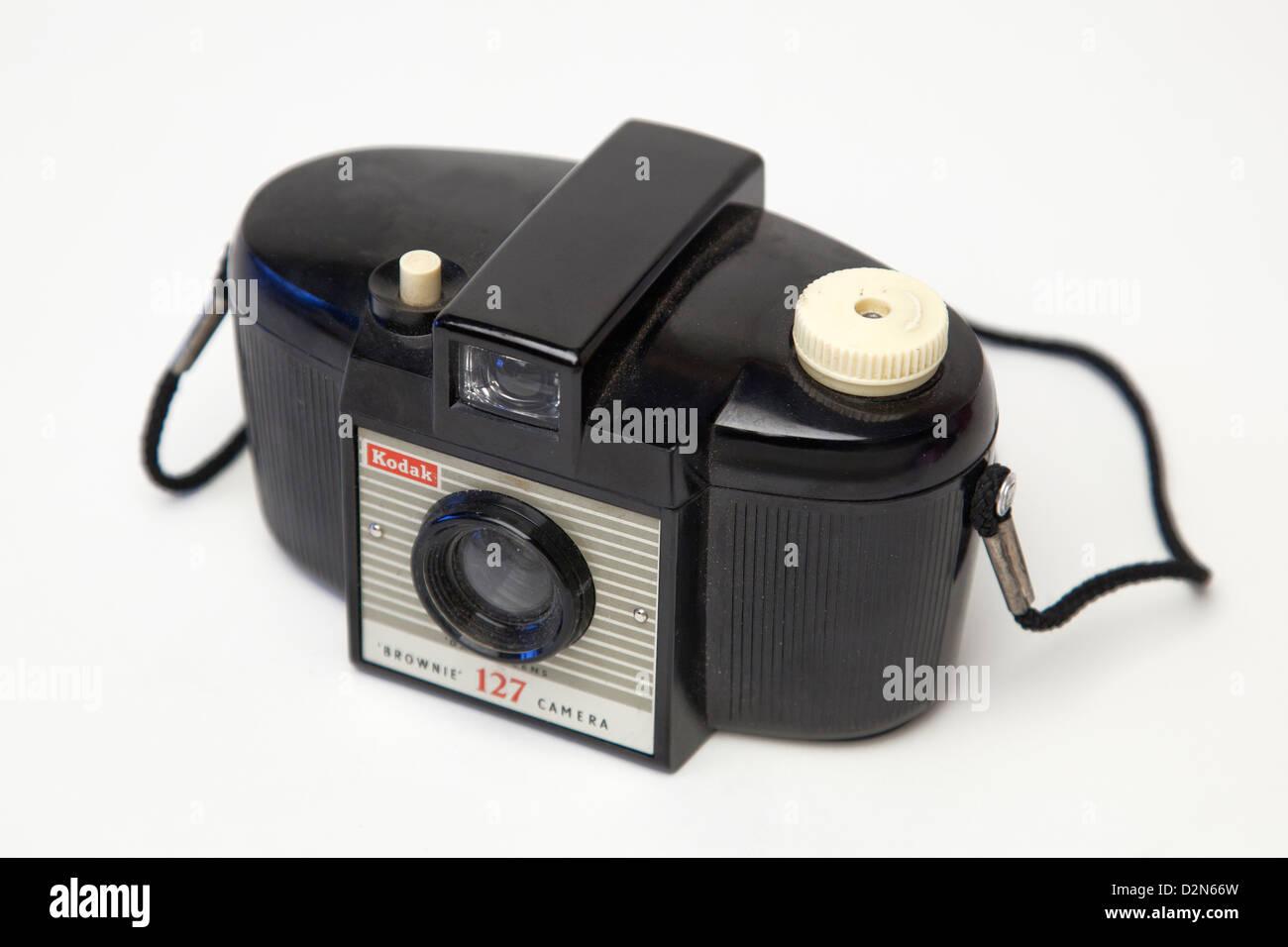 Encore une vie d'un appareil photo Kodak vintage Photo Stock