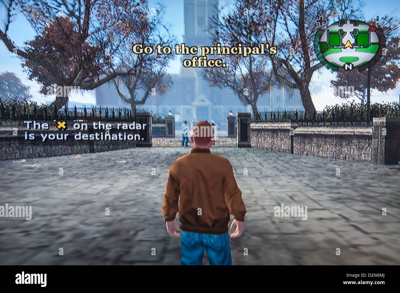 Jeu vidéo Grand Theft Auto Photo Stock