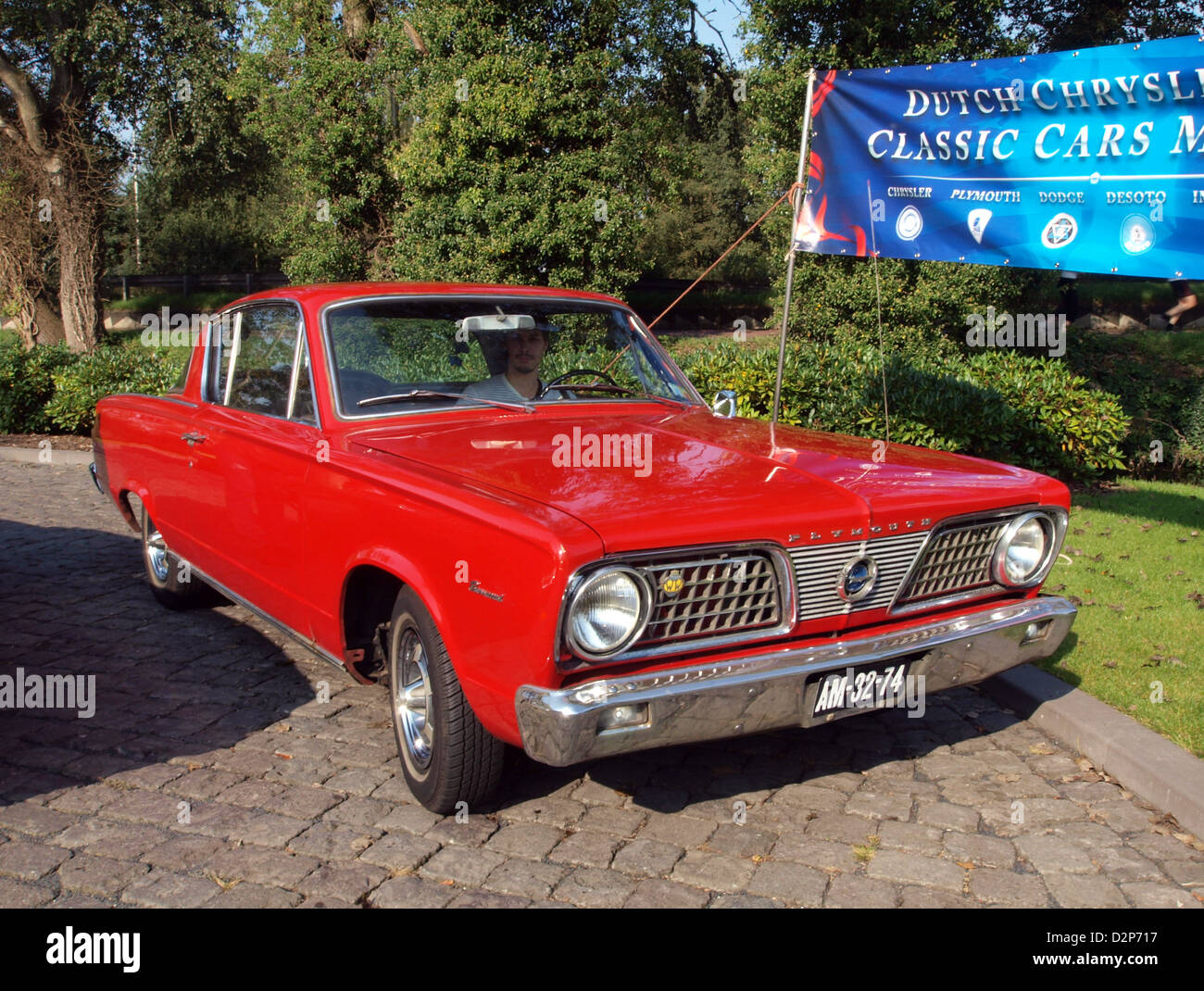1966 Plymouth Barracuda Banque D'Images