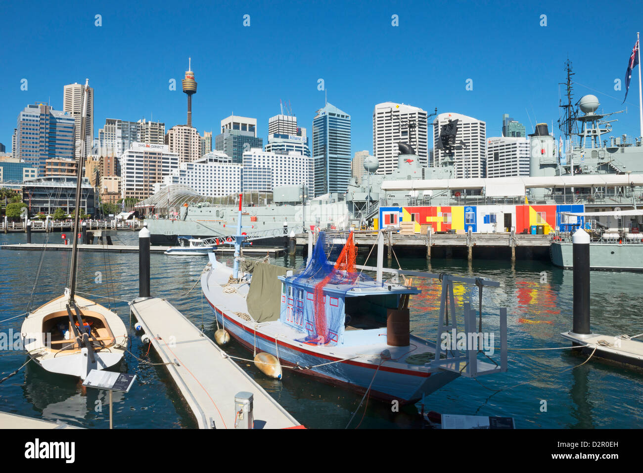 Darling Harbour, Sydney, Nouvelle-Galles du Sud, Australie, Pacifique Photo Stock