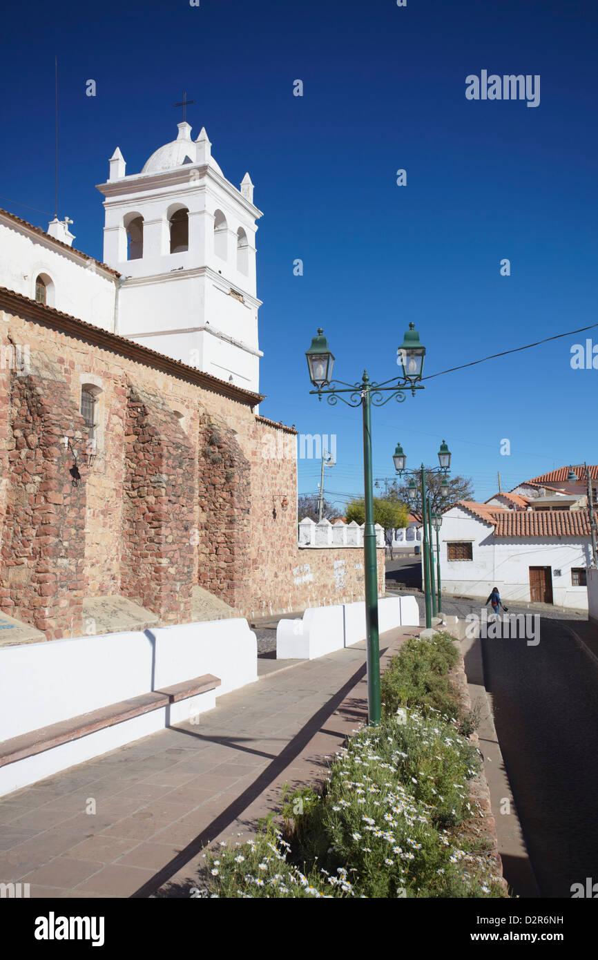 Iglesia de la Recoleta Recoleta (église), Sucre, UNESCO World Heritage Site, Bolivie, Amérique du Sud Photo Stock