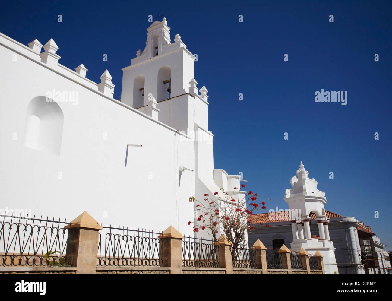 Iglesia de Santo Domingo, Sucre, UNESCO World Heritage Site, Bolivie, Amérique du Sud Photo Stock