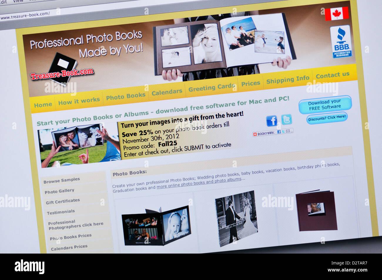 Livre Aux Tresors Site Web Sur Mesure En Ligne Des Livres