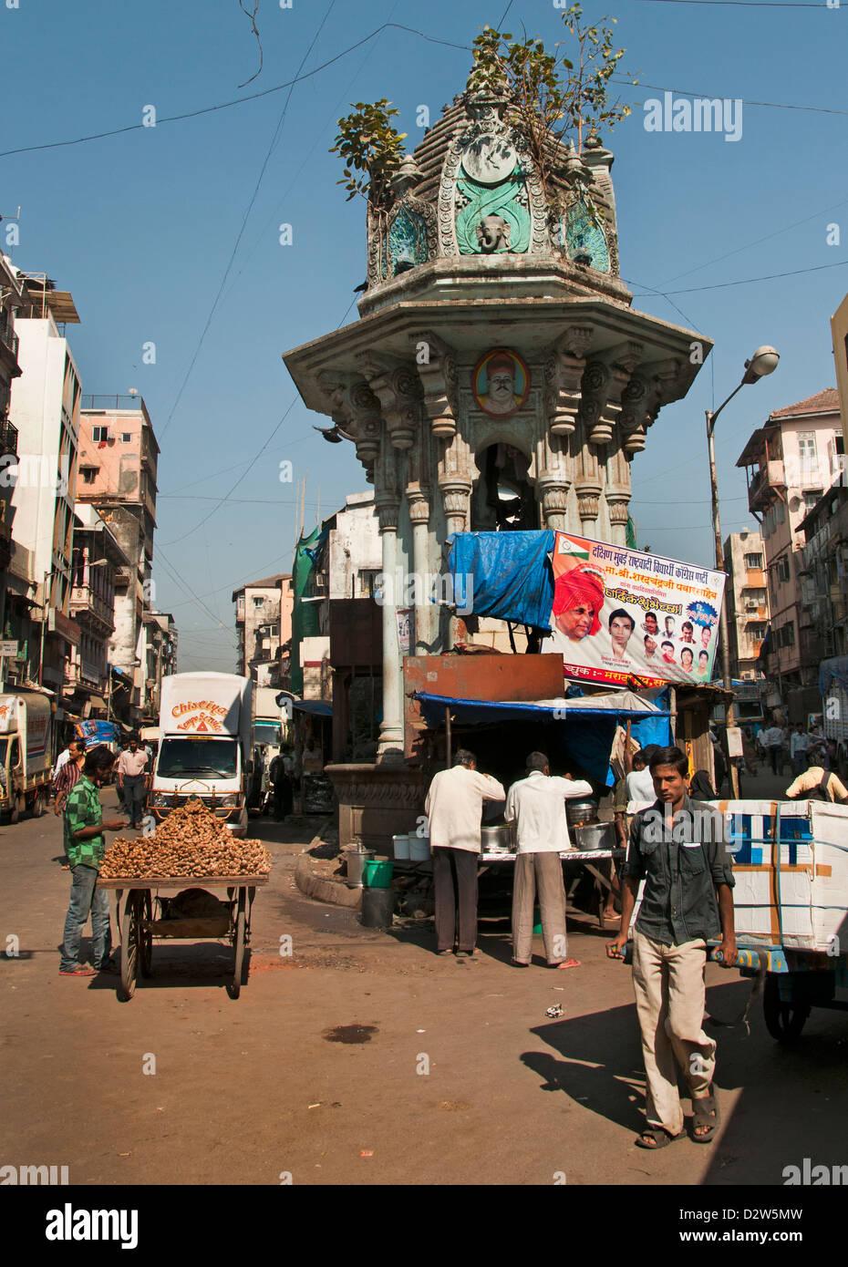 Mumbai ( Bombay ) l'Inde Photo Stock