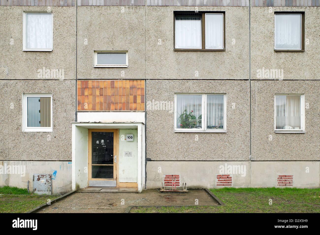 Kitzscher, Allemagne, terne dans la dalle d'entrée, Kitzscher Photo Stock