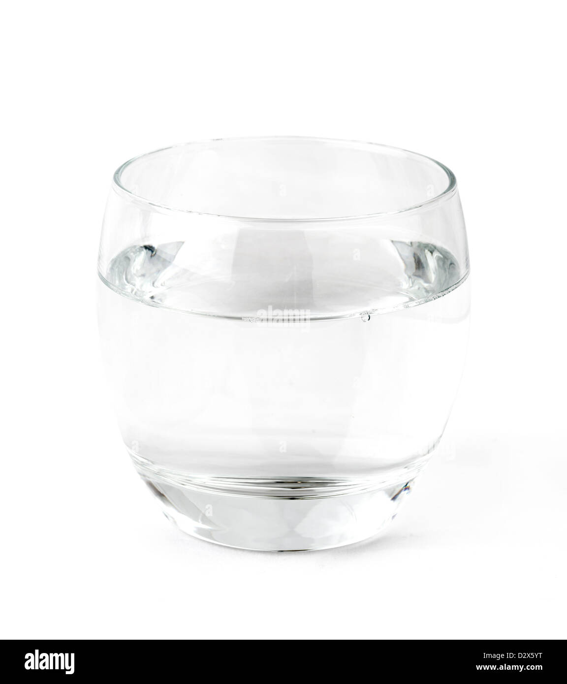 Verre d'eau Photo Stock