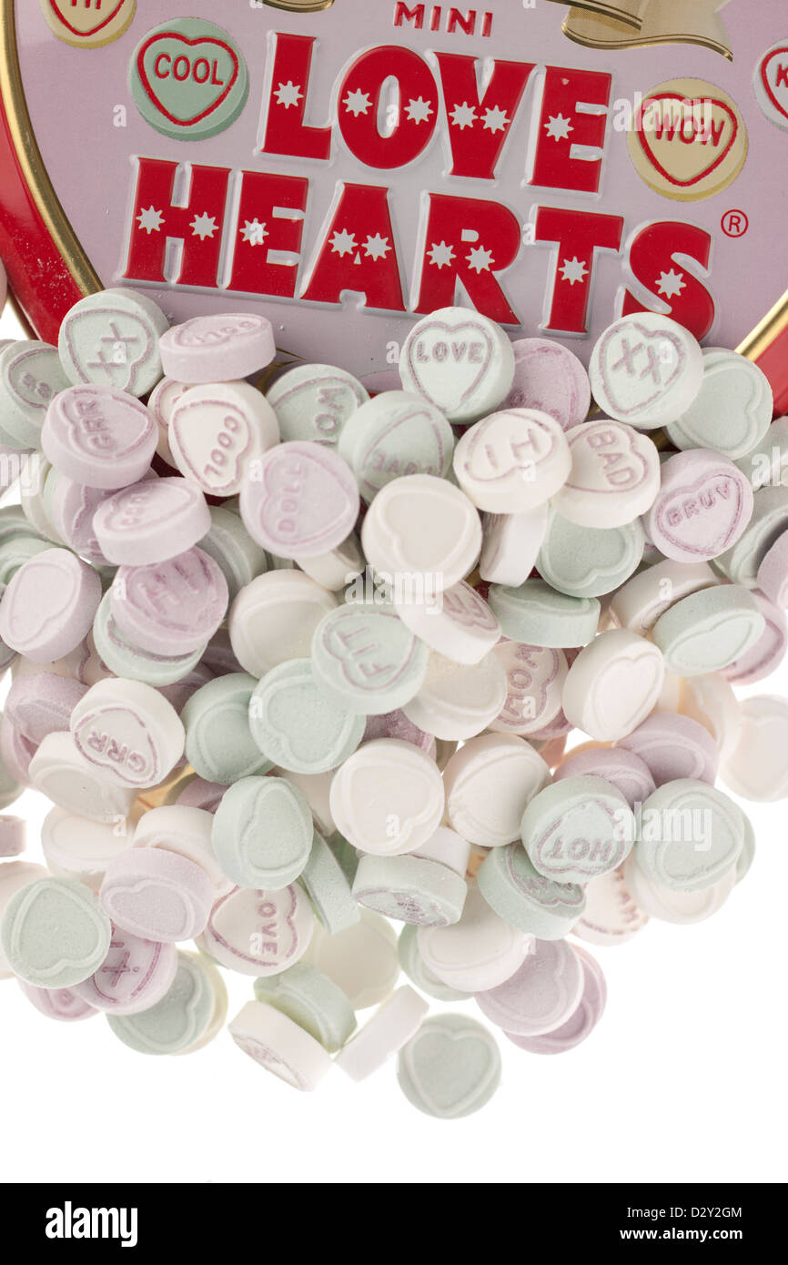 Mini Coeurs Amour Photo Stock