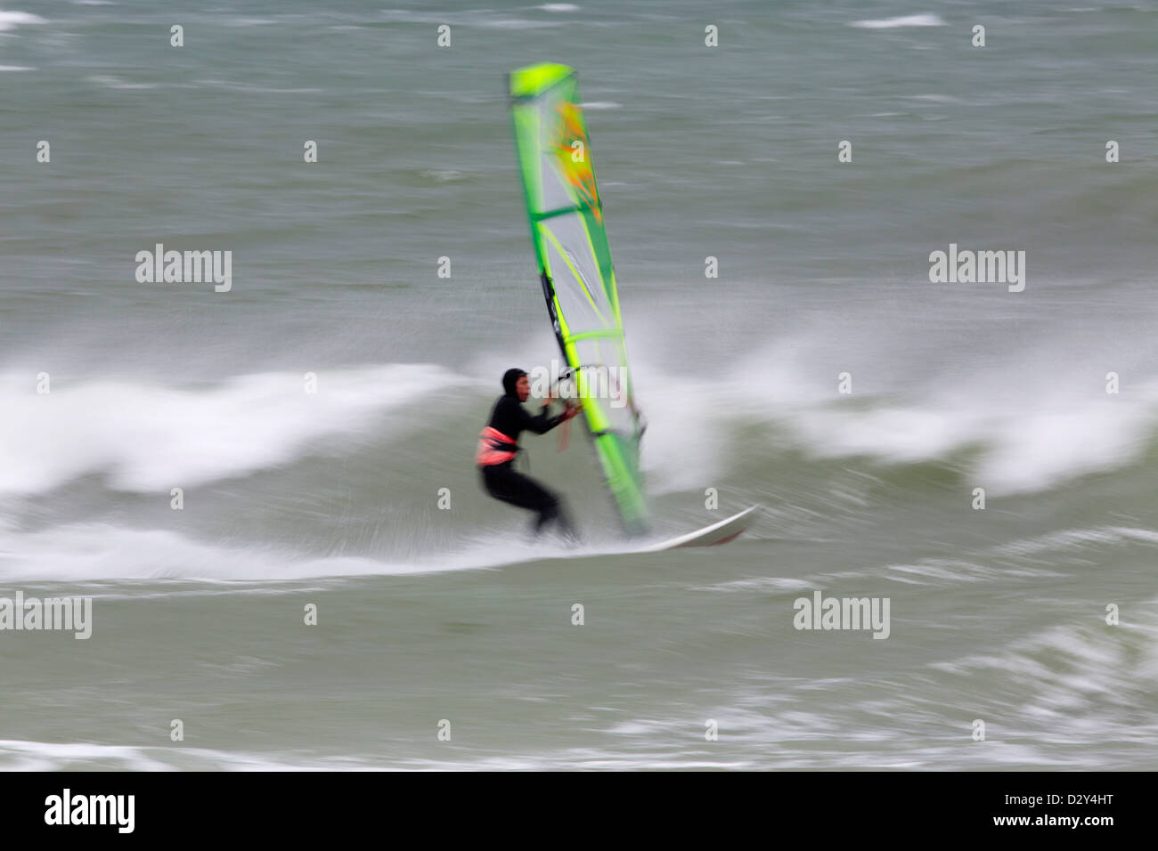 Wind Surf, Cornwall, UK Photo Stock