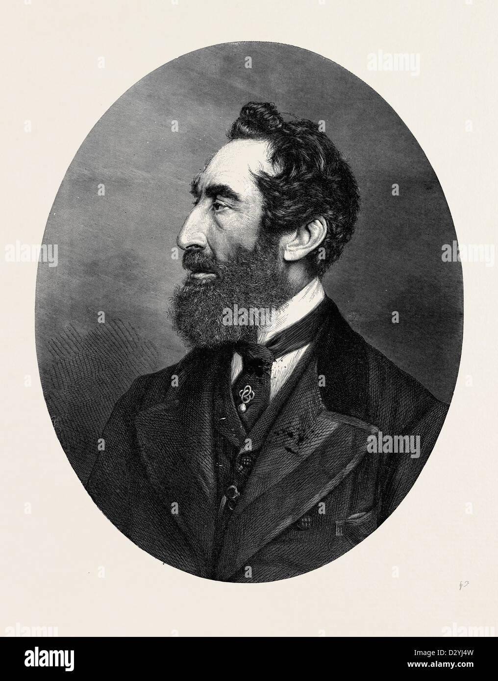 La FIN DE LORD LYTTON 1873 Banque D'Images