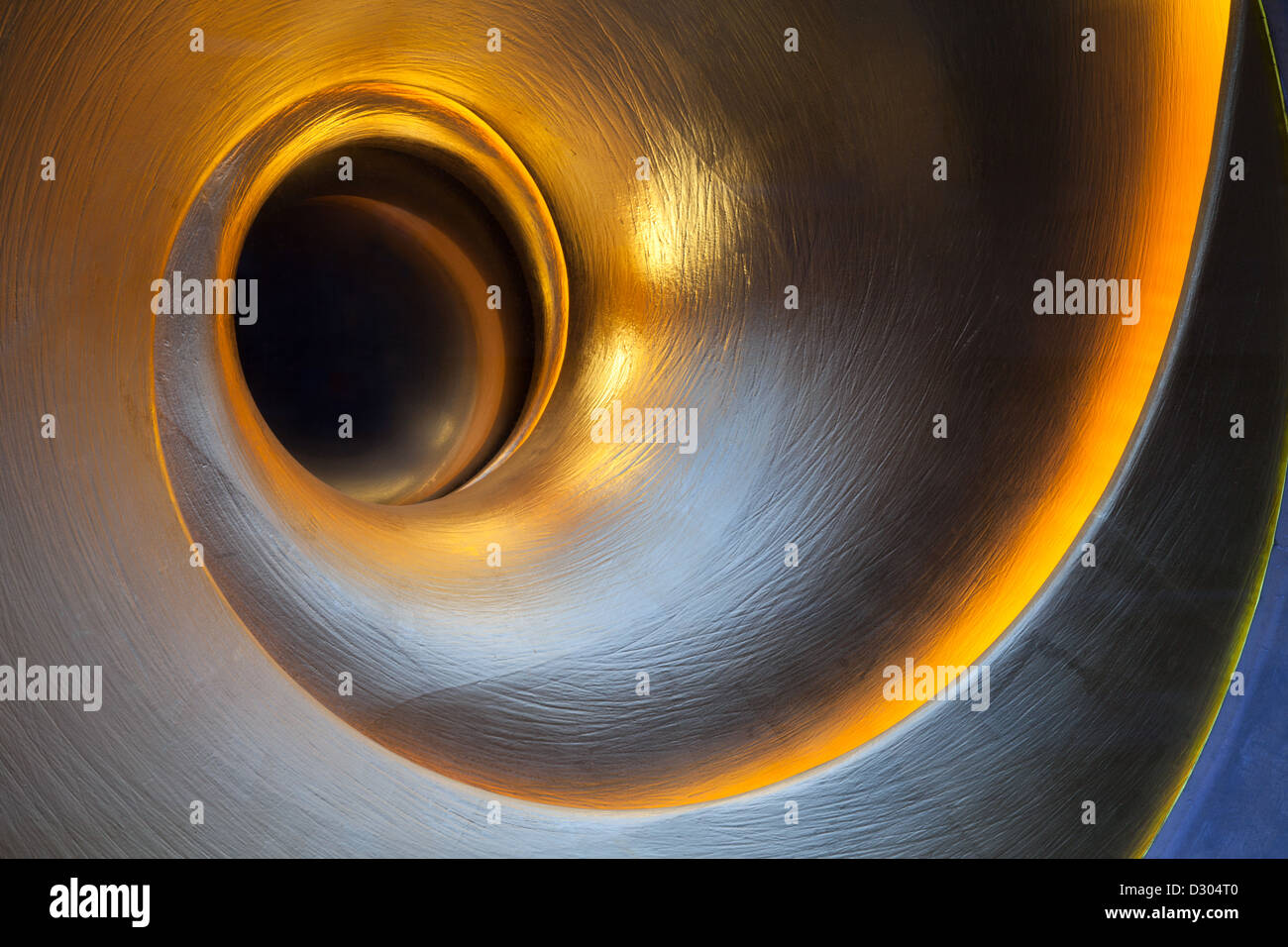 Close up of Helix or Sculpture, Cambridge, UK Hôtel Varsity Photo Stock