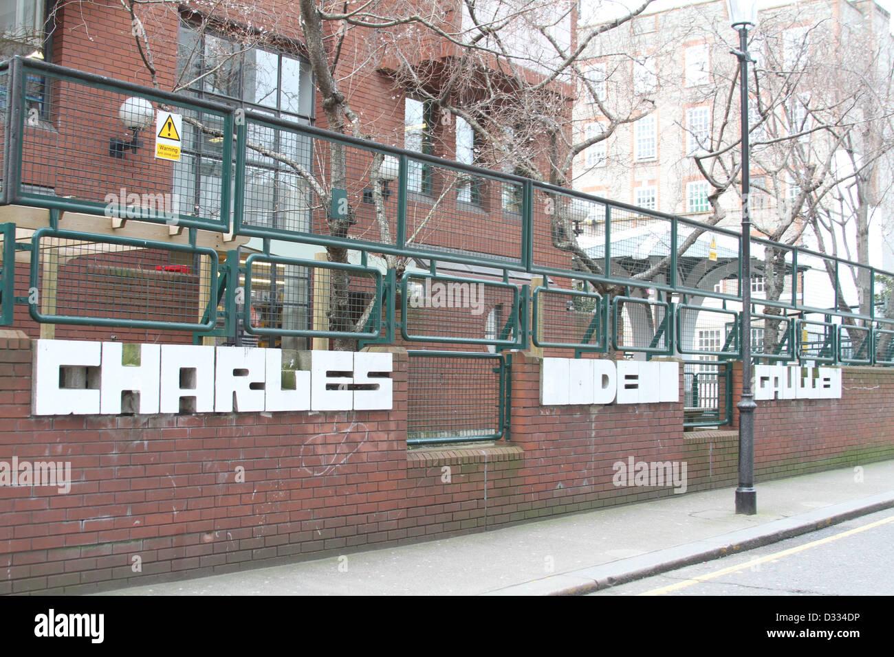 Le Lycée français Charles de Gaulle, Londres, South Kensington, UK Photo Stock