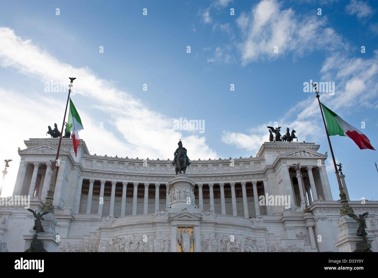 Monument Vittoriano Photo Stock