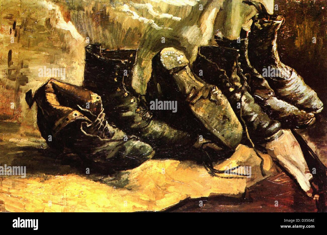 Chaussures1886Le Van De GoghTrois Paires Vincent HE9ID2eWY