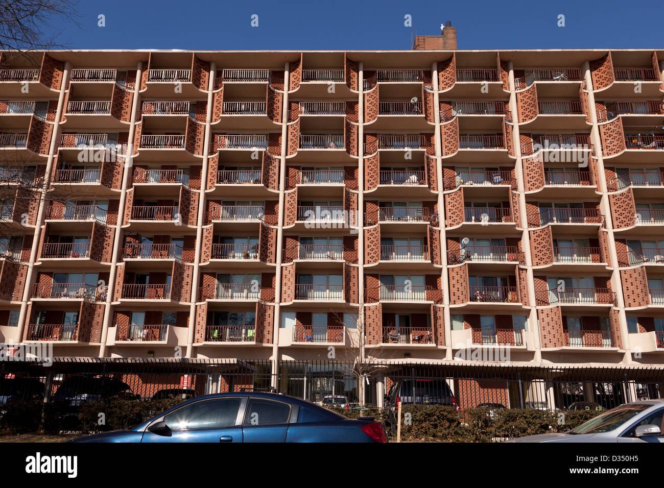 Apartment Building Photo Stock