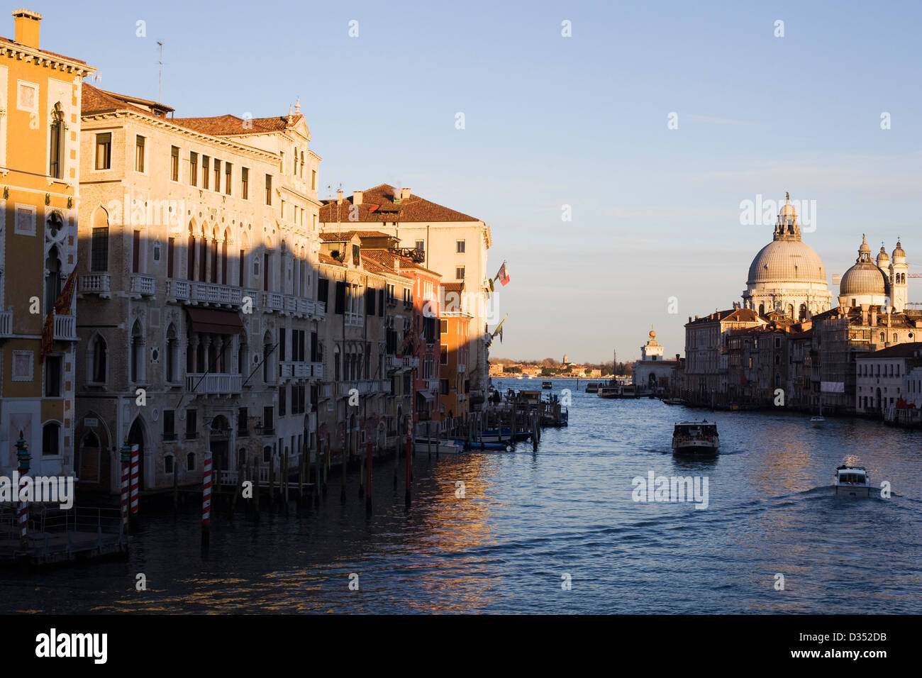 Venezia Venise ville marécageuse au nord-est de l'Italie Lagune de Venise Photo Stock