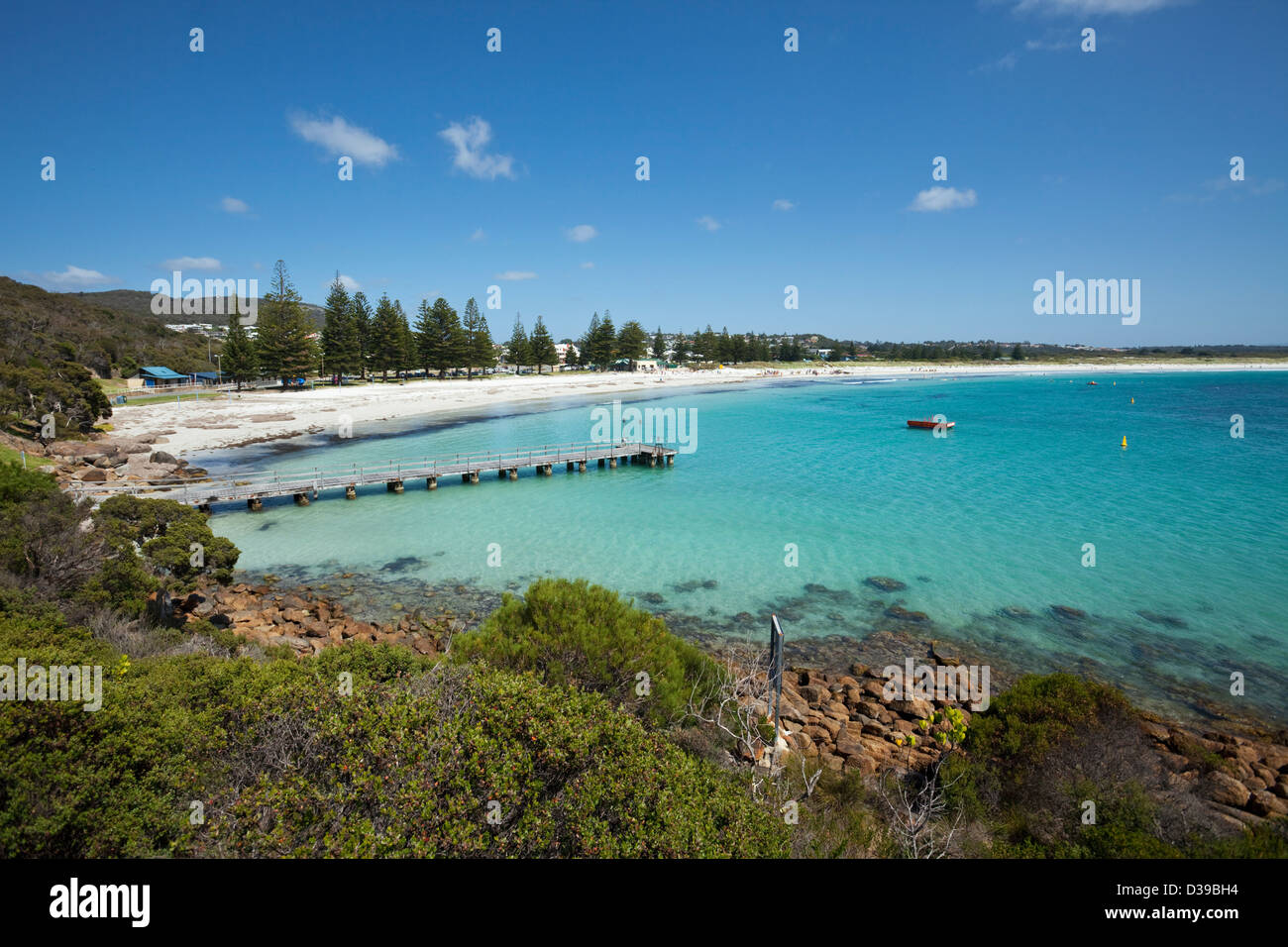 Middleton Beach, Albany, Australie occidentale, Australie Photo Stock