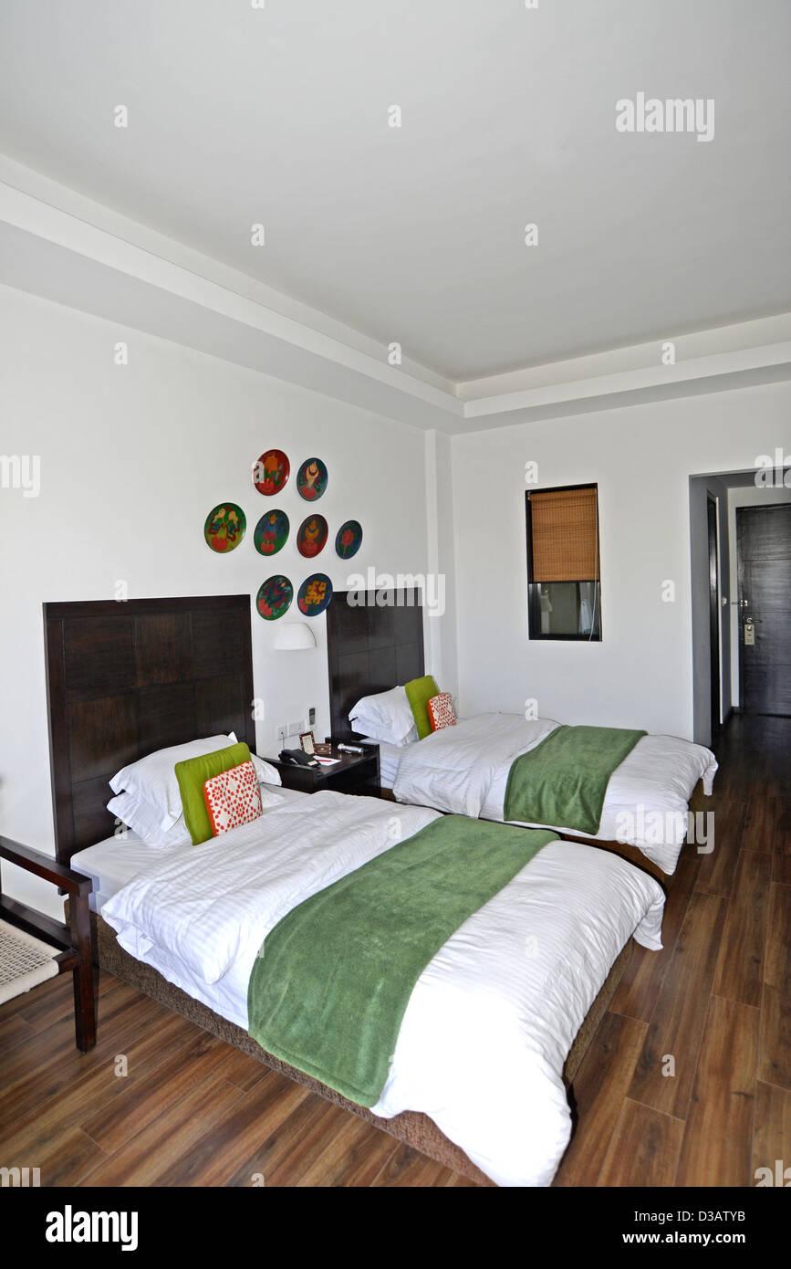 Prix Hôtel Club Himalaya Népal Nrgarkot Photo Stock