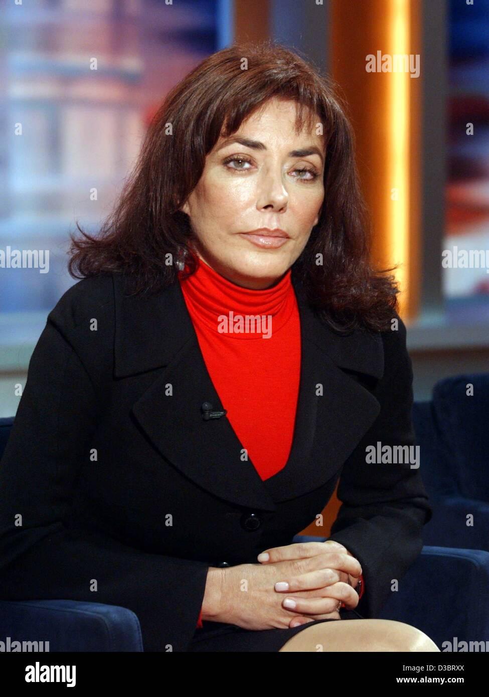 (Afp) - Carmen ben Laden, la belle-soeur du chef terroriste Oussama ben Laden, présenté lors de l'enregistrement Photo Stock