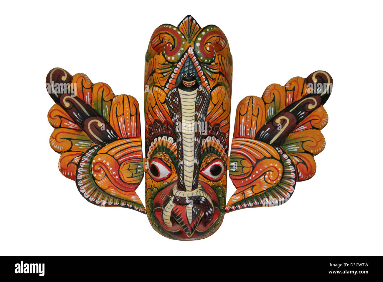 Gurulu masque mal Raksha Photo Stock