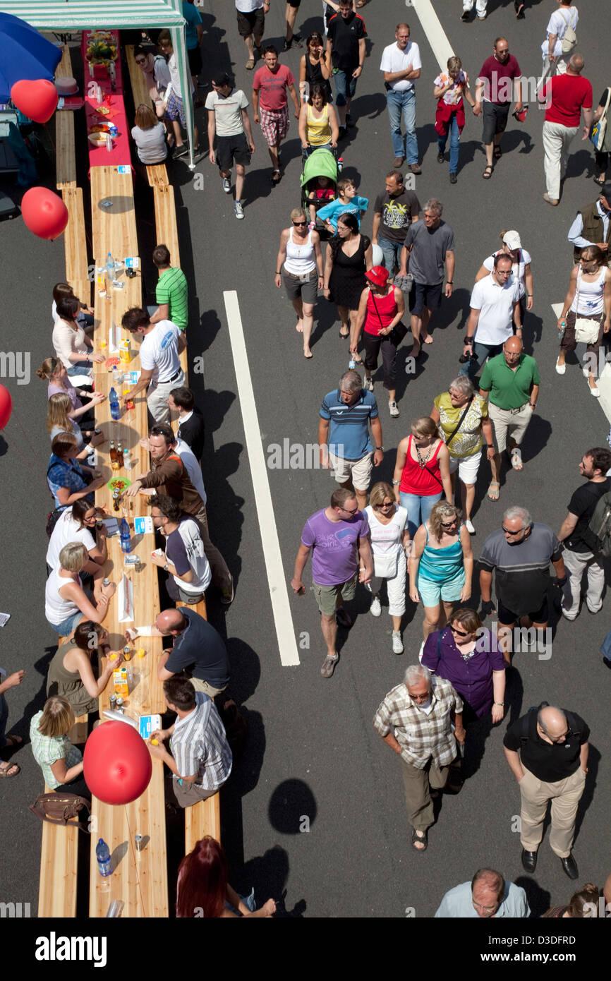 Bochum, Allemagne, Speed Dating sur la vie encore Ruhr Banque D'Images
