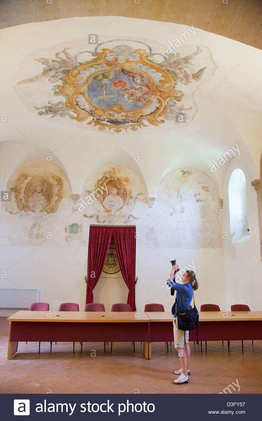 Abbaye bénédictine de Saint Michel Archange,montescaglioso, balislicata,Italie Photo Stock