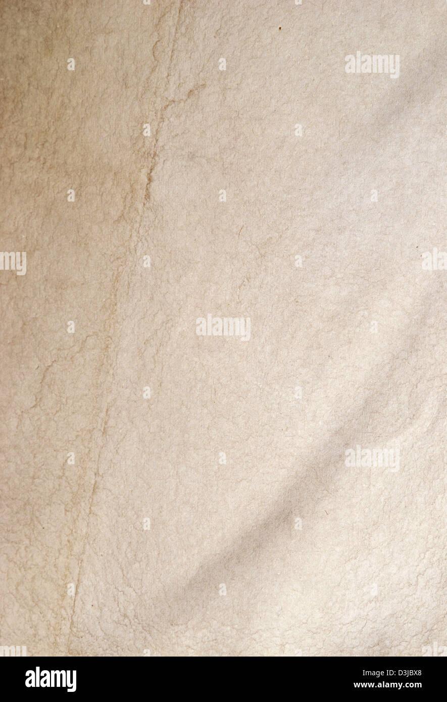 Old paper texture grand comme un arrière-plan Banque D'Images
