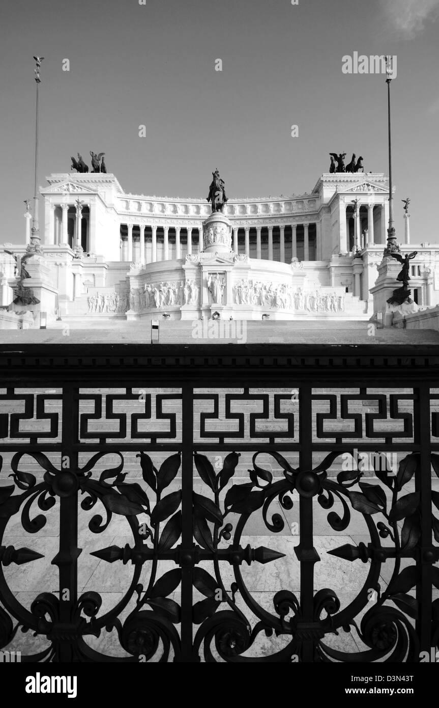 L'Italie, Lazio, Rome, Vittoriano, Altare della Patria Photo Stock