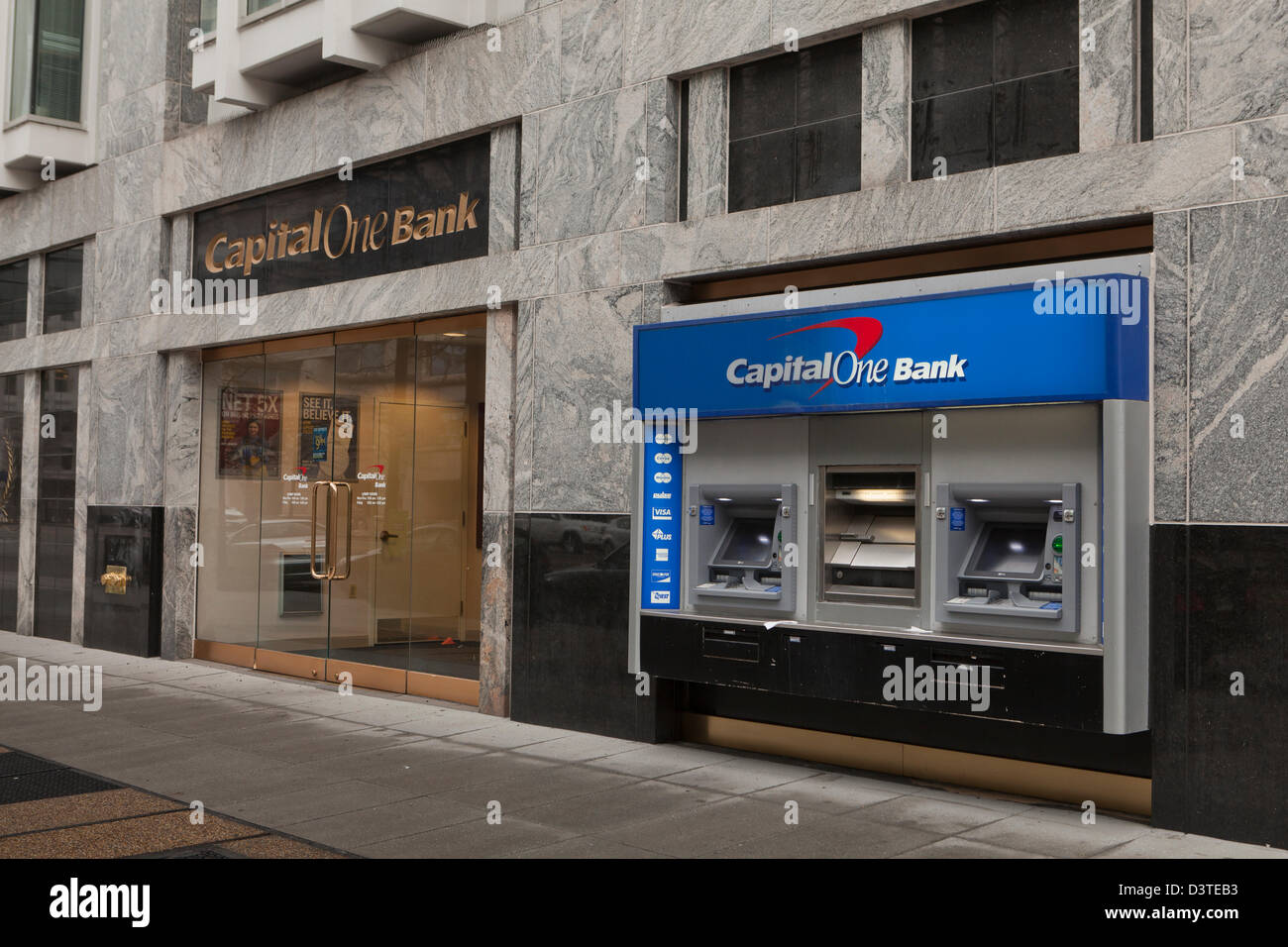 Capital One Bank Photo Stock