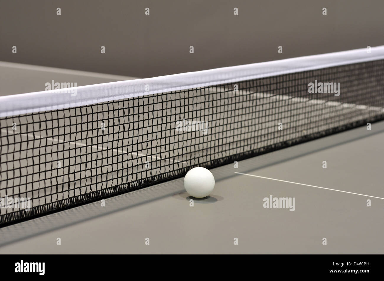 Tennis de table Still Life with selective Focus closeup Photo Stock