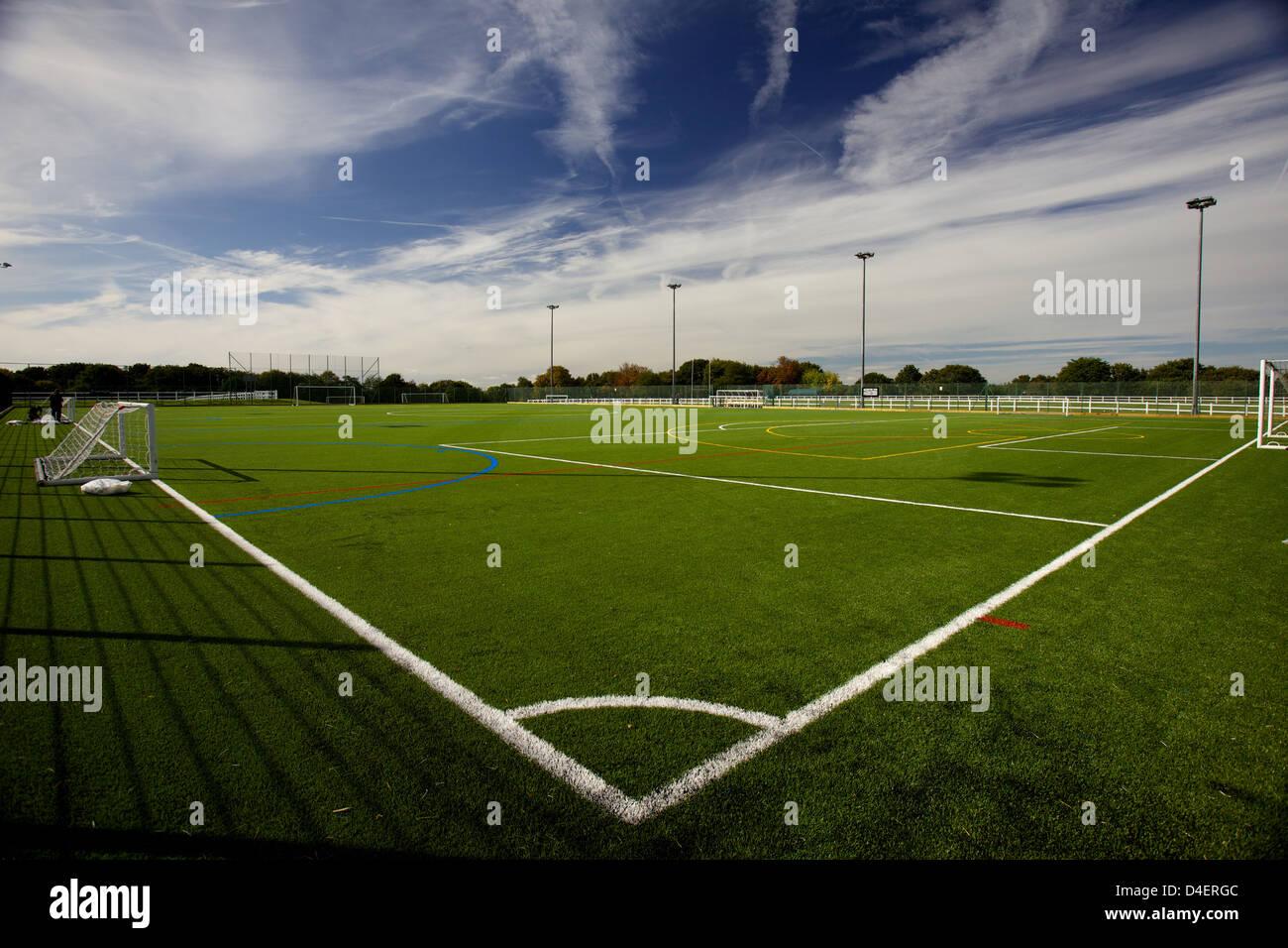 Terrain de sport 3G par Vicky image/iconphotomedia Matthers Banque D'Images