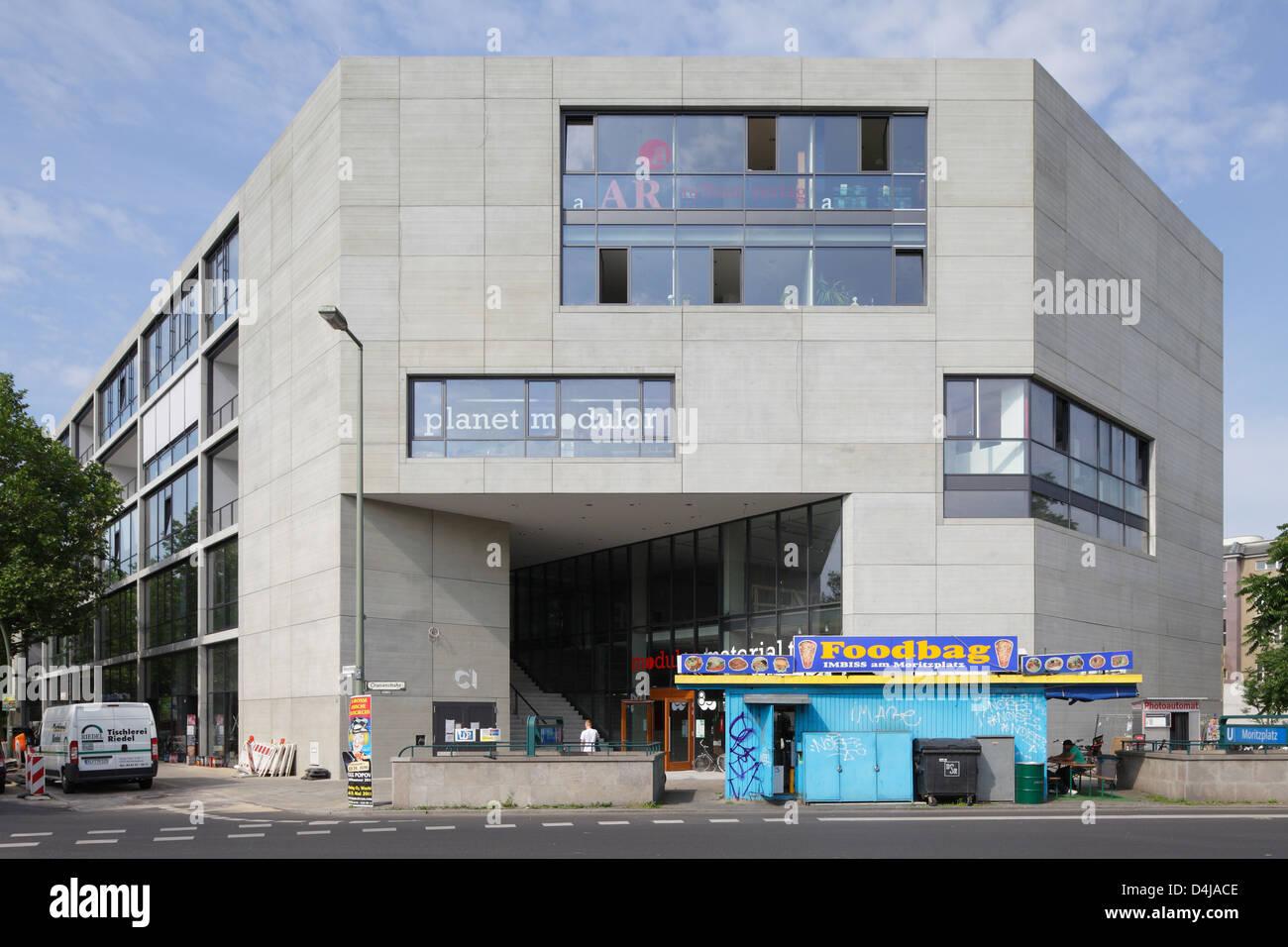 berlin, allemagne, des bâtiments planète moritzplatz modulor banque