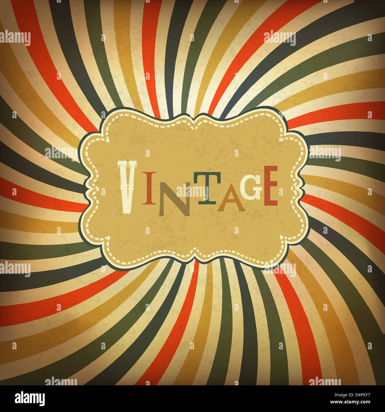 Vintage Grunge background Photo Stock