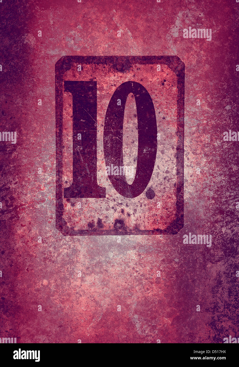 grunge 10 Photo Stock