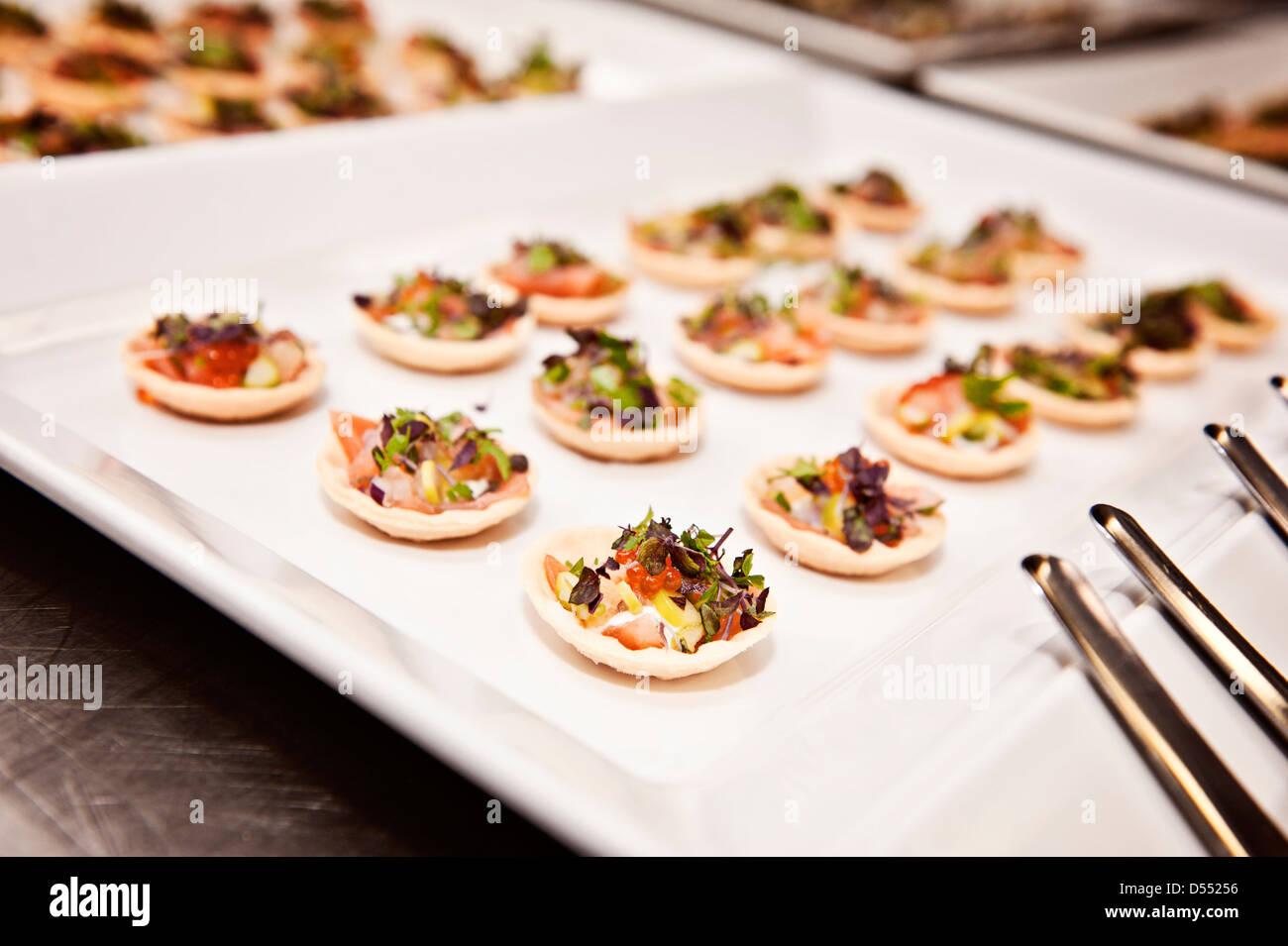 L'alimentation comme fonction vu à un événement spécial Photo Stock