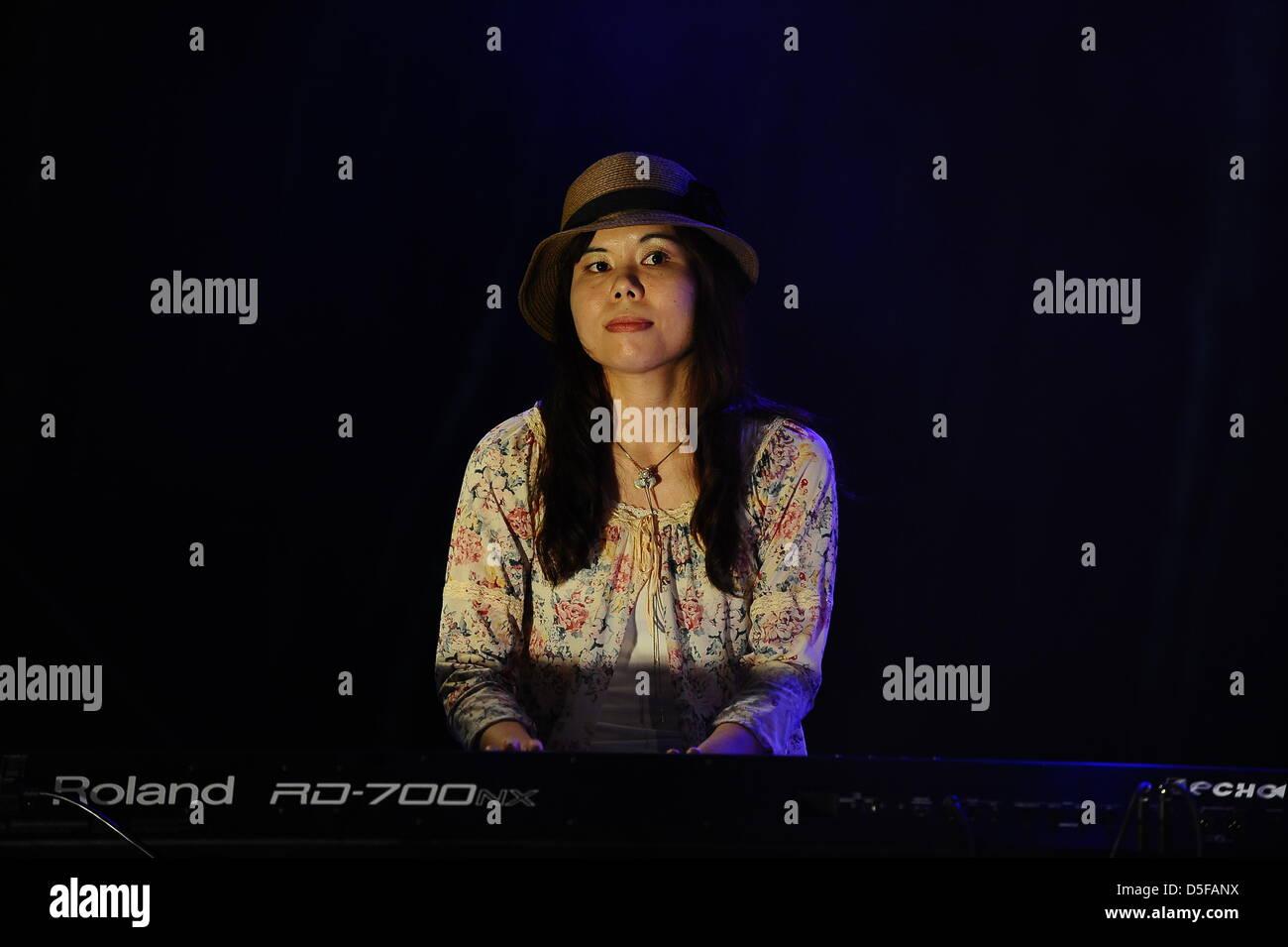 Penang, Malaisie. 30 mars, 2013. Mamiko Watanabe, le pianiste Japonais  effectuant 0d0dc42d9dc8
