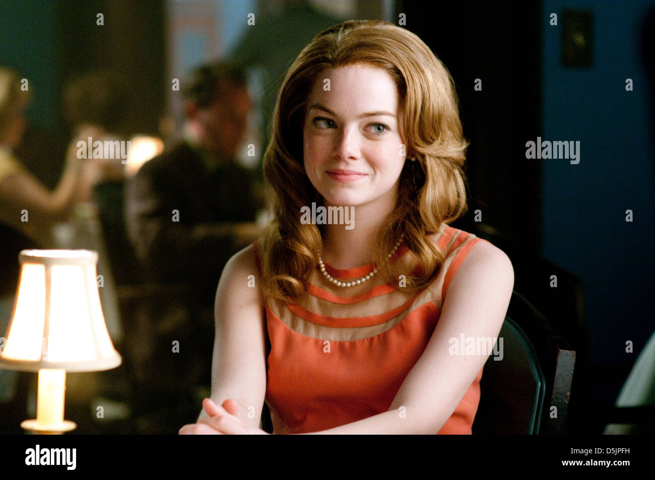 EMMA STONE L'aide (2011) Photo Stock