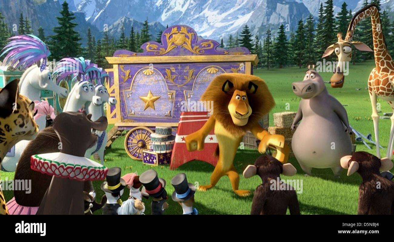MADAGASCAR 2005 DreamWorks SKG animation Photo Stock