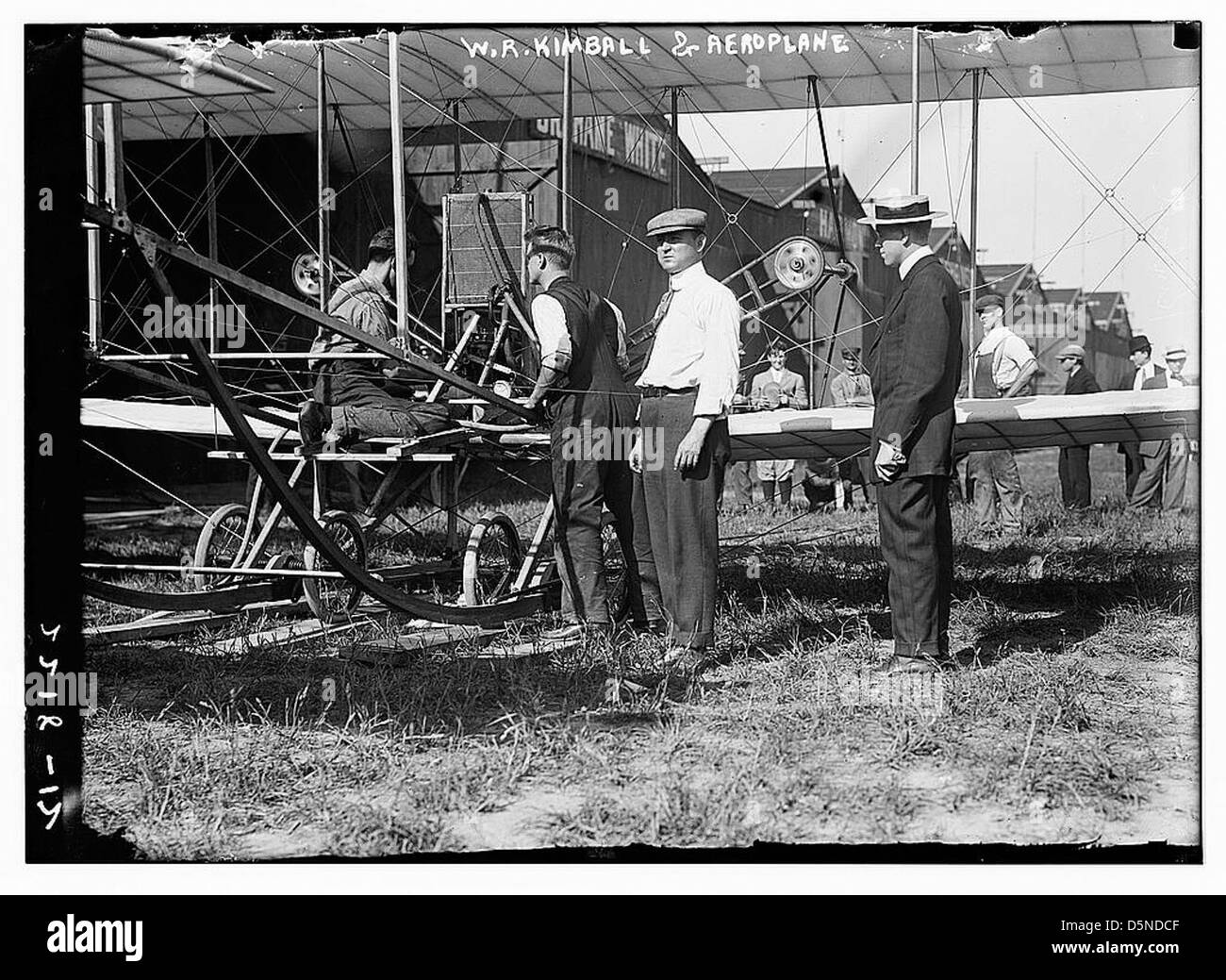 W.R. Kimball & avion (LOC) Banque D'Images