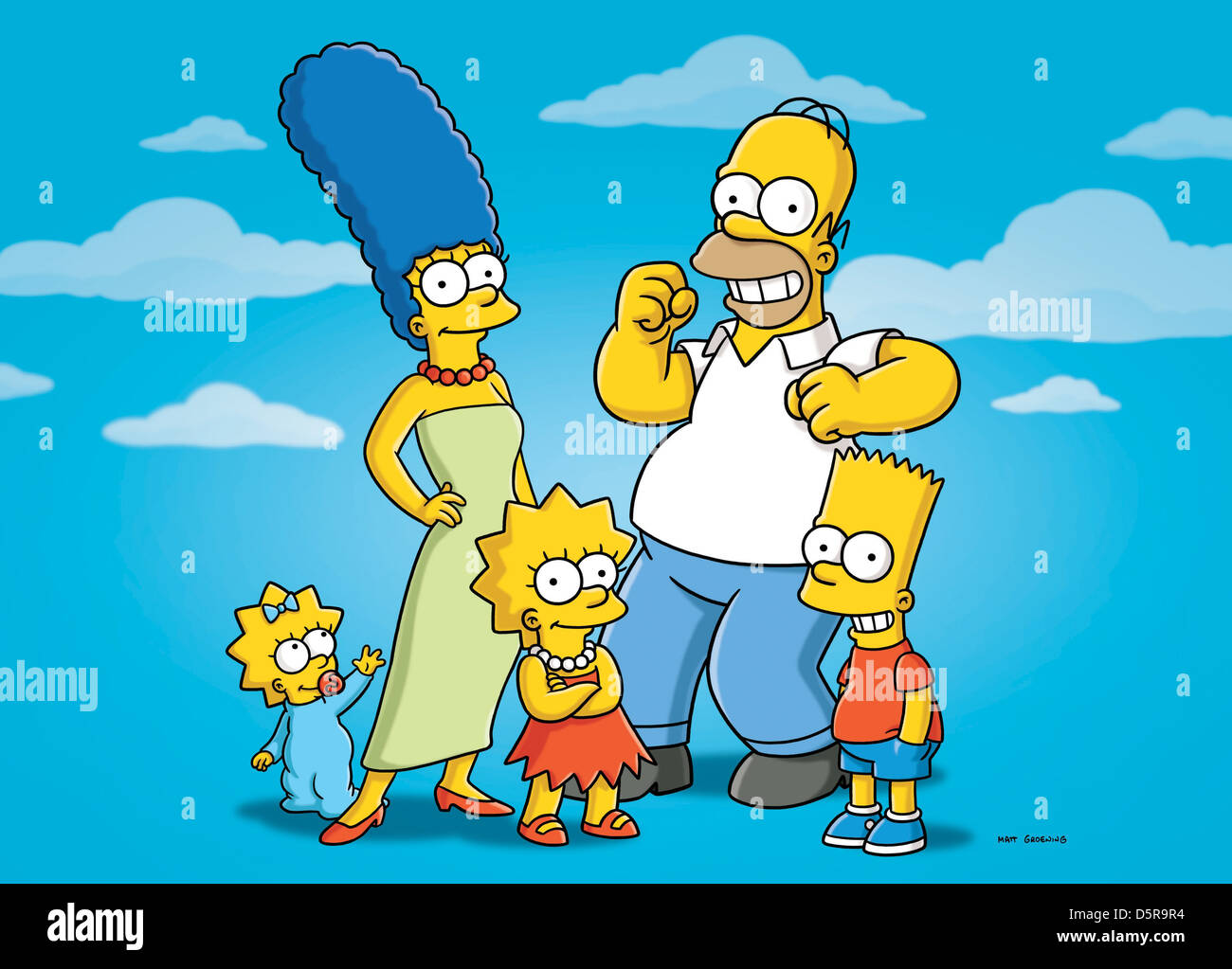 Maggie simpson marge simpson lisa simpson homer simpson et bart simpson les simpson saison 21 - Marge simpson et bart ...