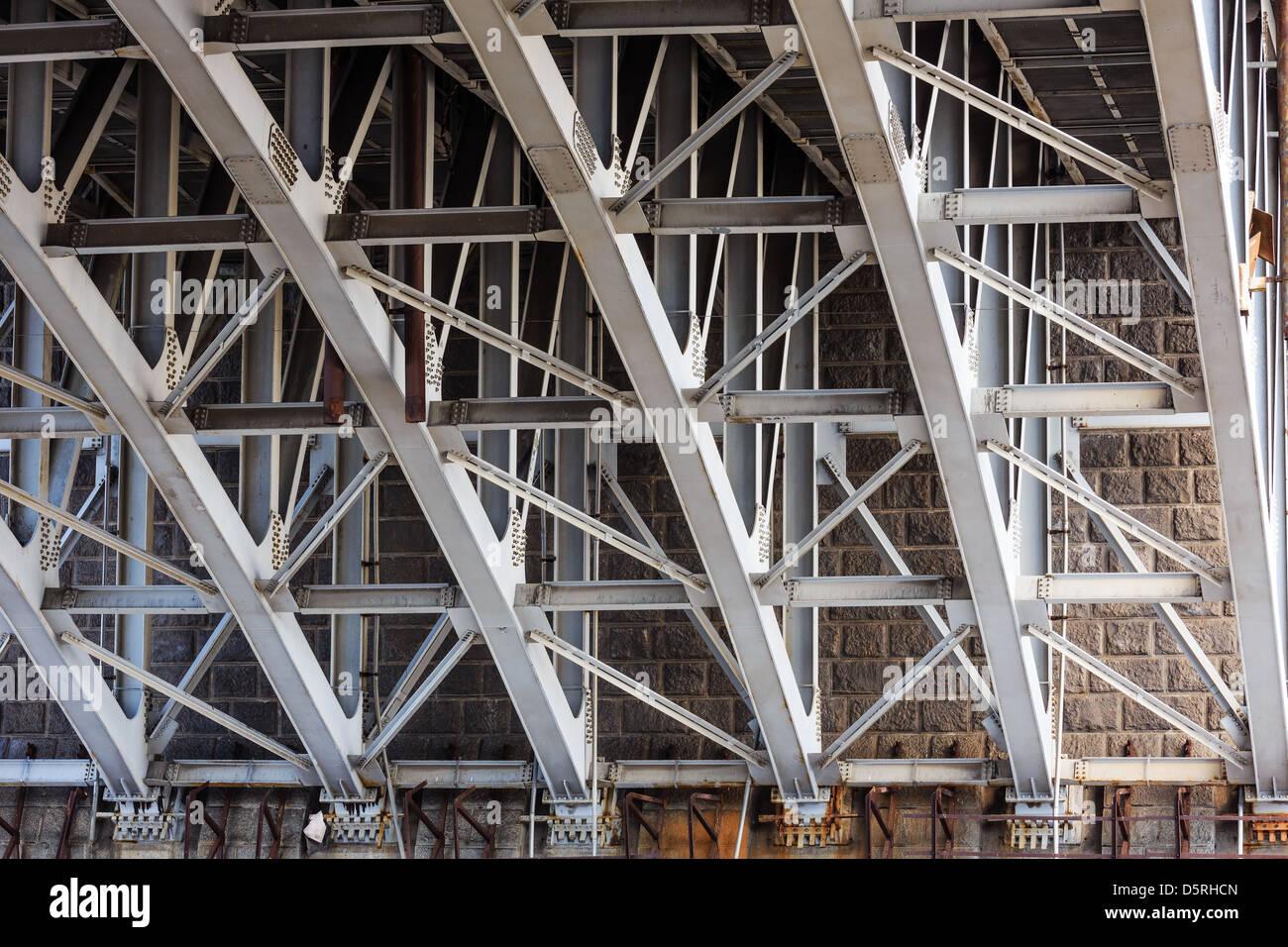La construction de support Photo Stock