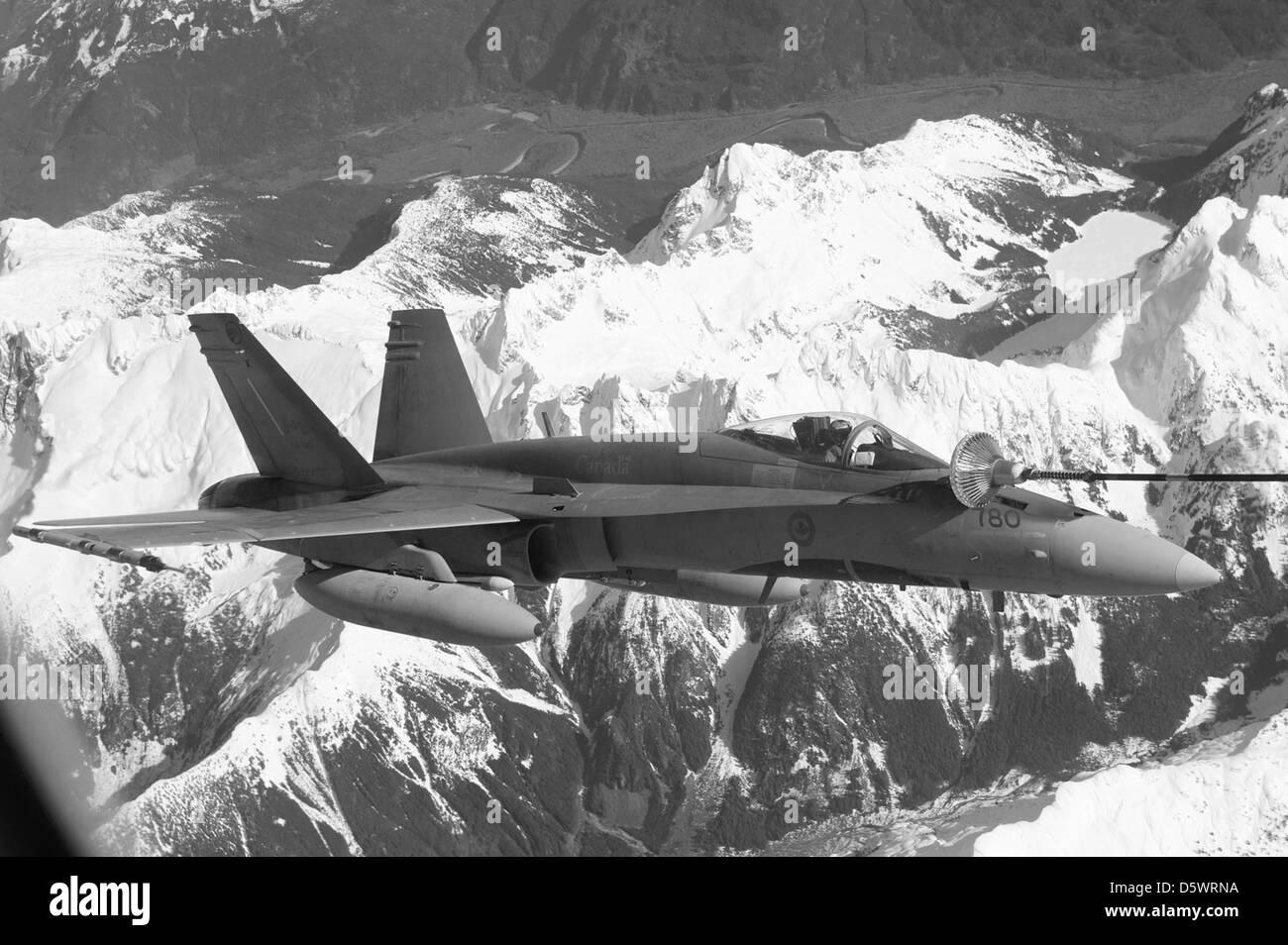 McDonnell Douglas CF-18 'hornet' Photo Stock