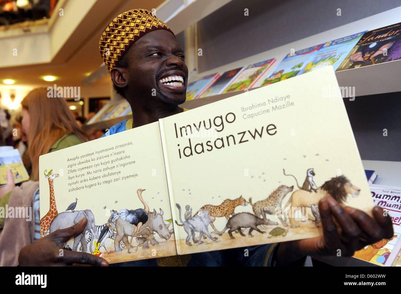 African Children S Book Author Ibrahima Ndiaye Du Senegal