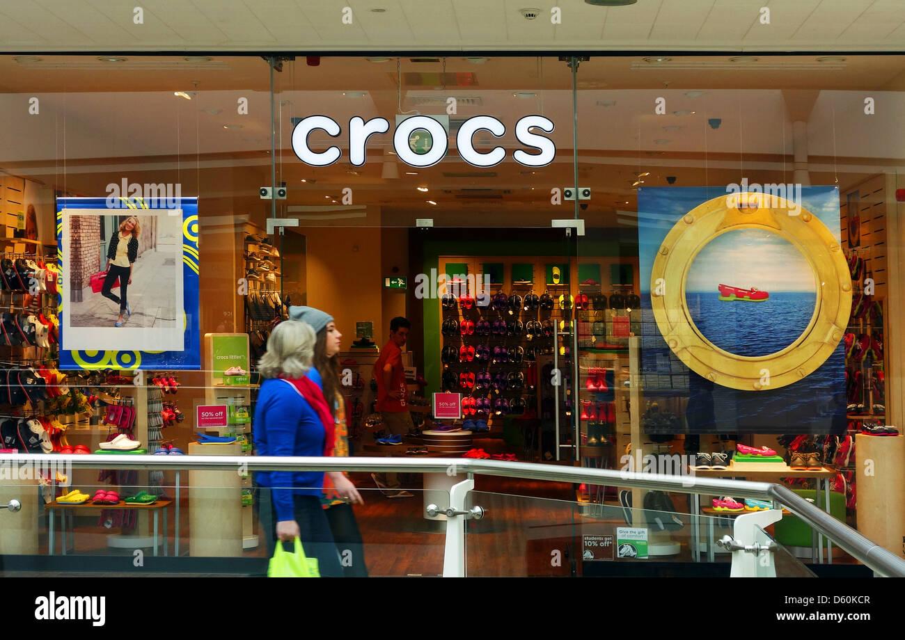 72f1f84983d Un magasin Crocs dans Cribbs Causeway