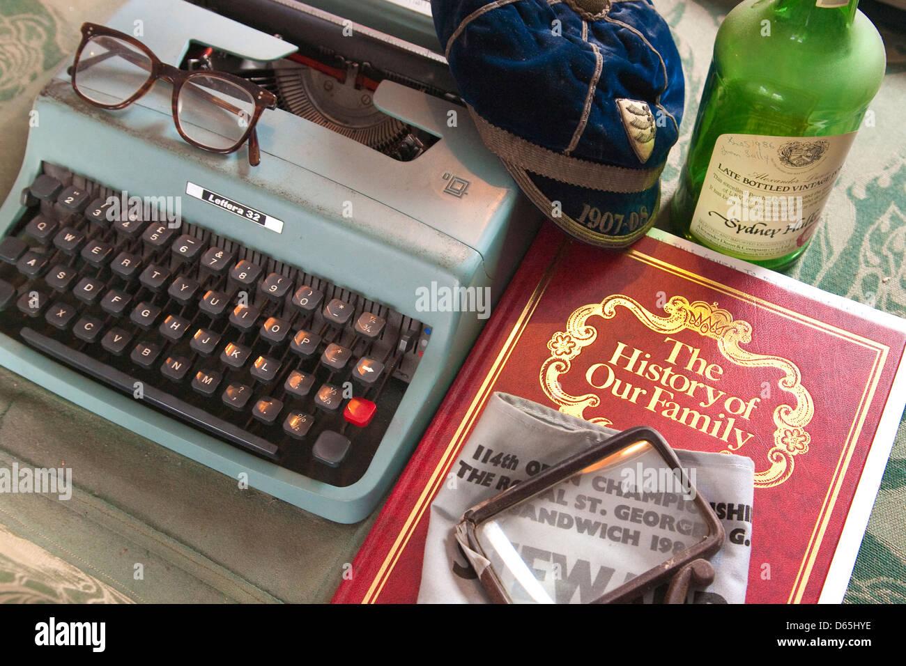 Souvenirs de famille Photo Stock