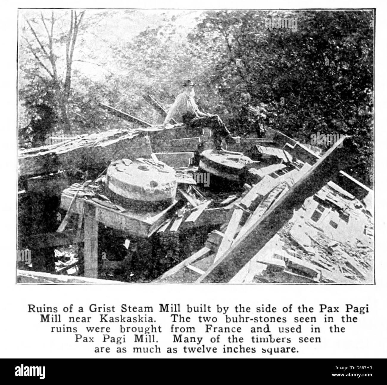 L'histoire d'un étudiant de l'Illinois (1917) Photo Stock