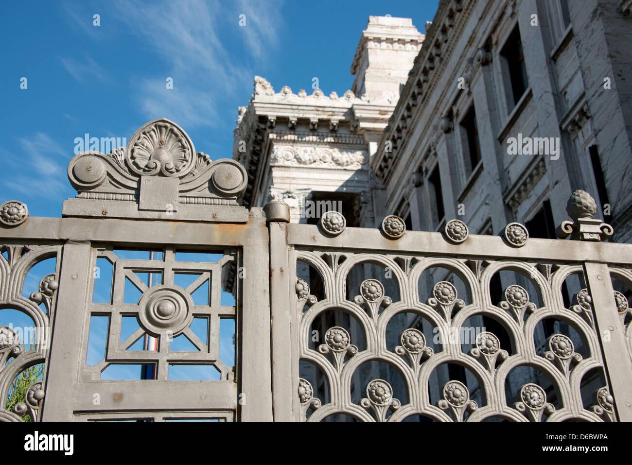 L'Uruguay, Montevideo. Palais législatif historique, siège de Parlement uruguayen. Photo Stock